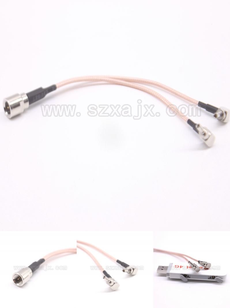 Visit to Buy] antenna Pigtail Cable FME to Y type 2 X CRC9 connect ...