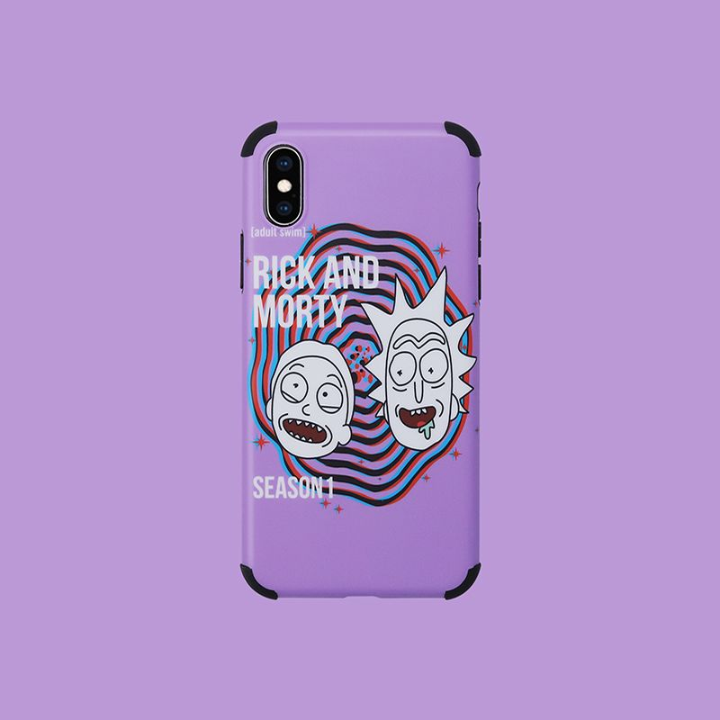 Rick And Morty Funny Case For Iphone Xs Xr Xs Max Iphone Cases Case Iphone Iphone xs max wallpaper rick and morty