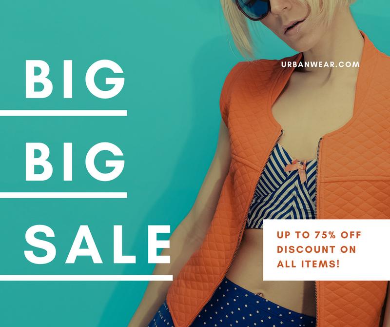 Green Photo Fashion Apparel Shop Sale Facebook Post Stock Illustration – Canva