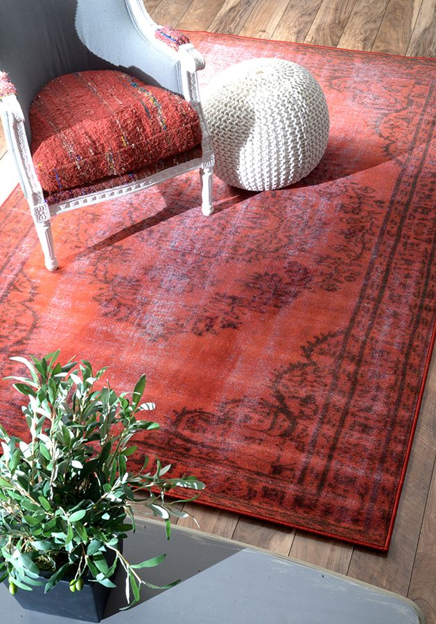Rugs USA Winsdor Overdyed Grove Red Rug. 4th of July Sale Last Day ...