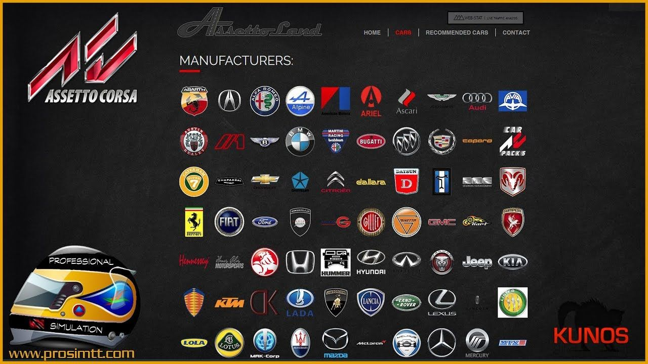 Best Assetto Corsa Car Mods 2018 Car mods, Car, Repair guide
