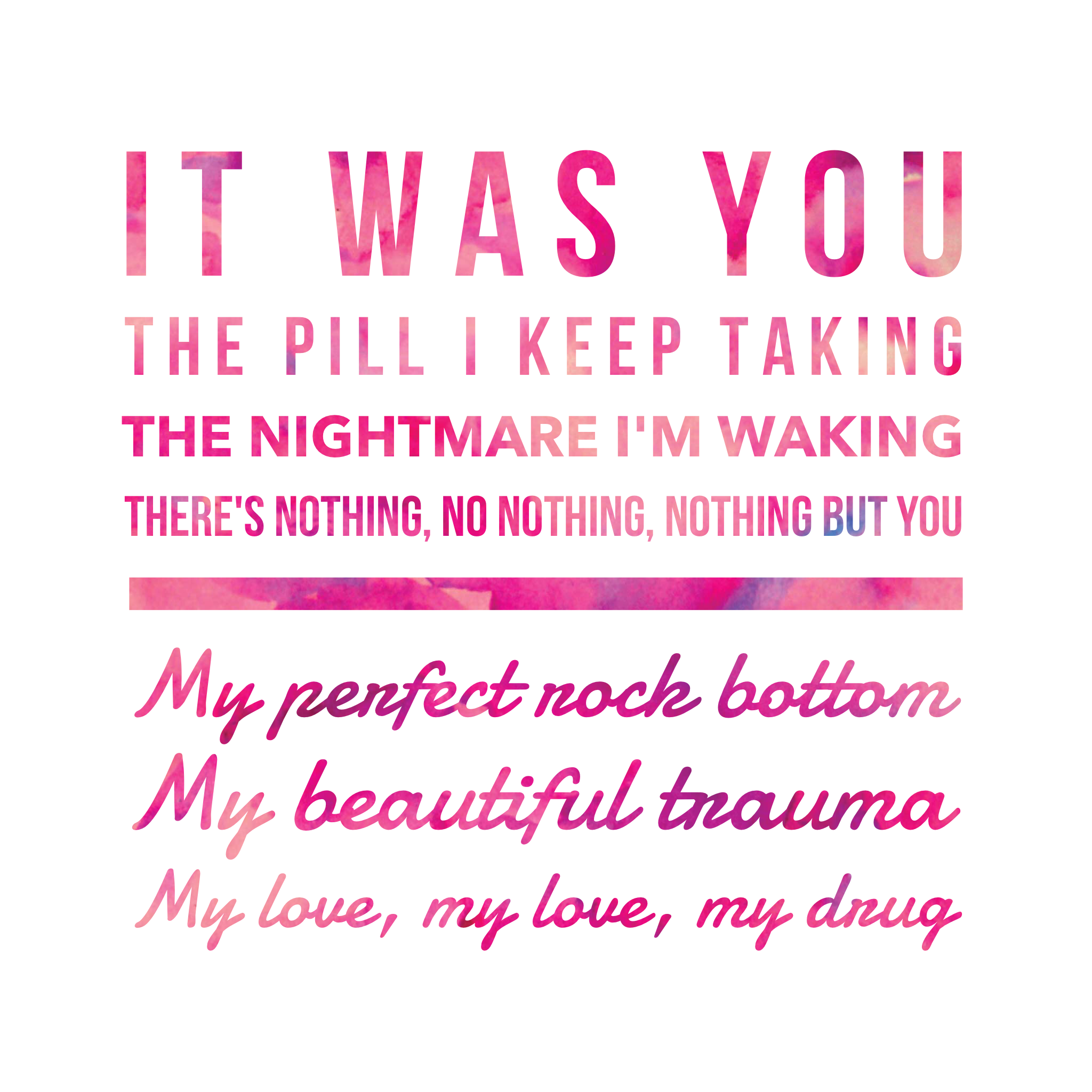Beautiful Trauma ~ P!n...P!nk Lyric Quotes