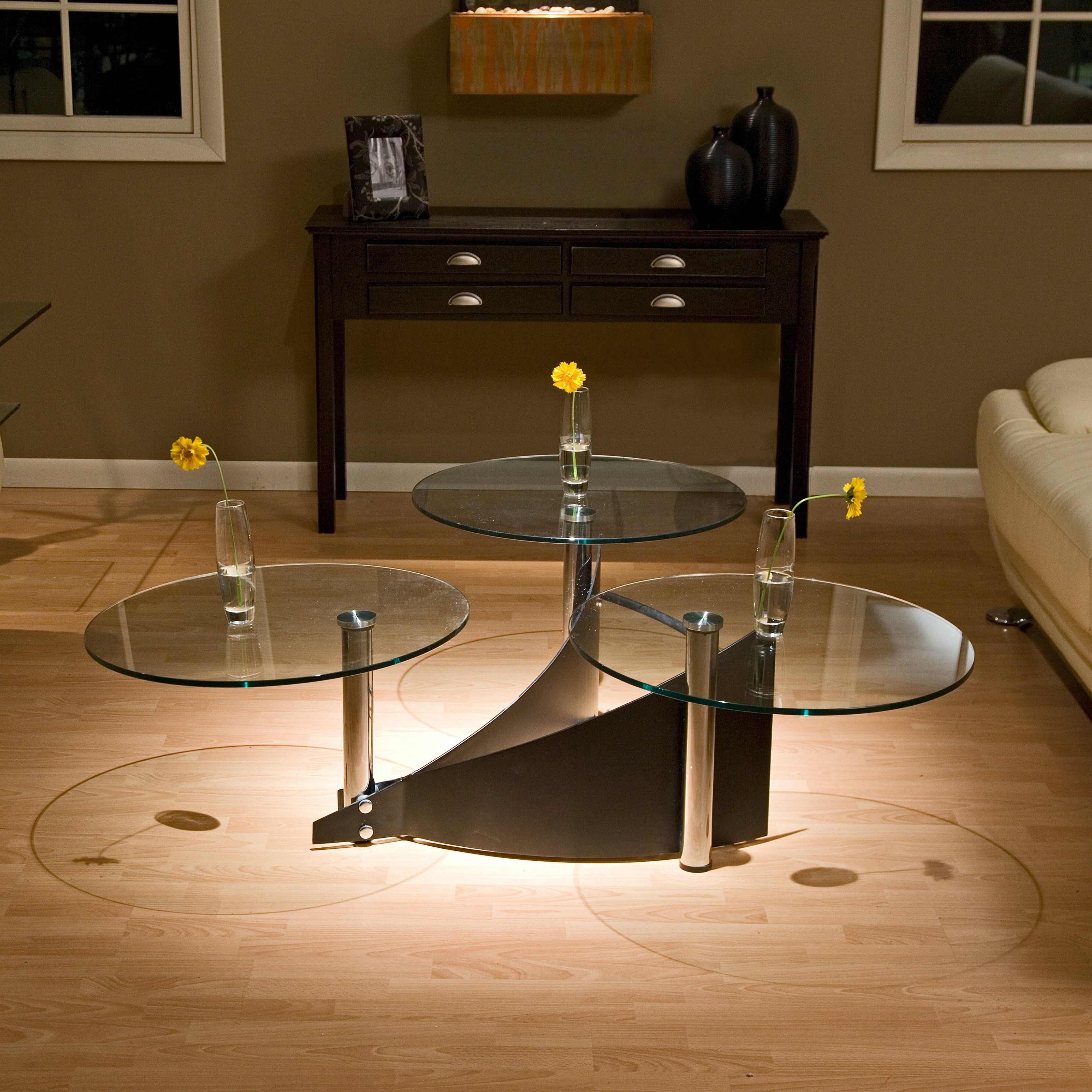 3 Way Motion Round Glass Coffee Table Www Hayneedle Com Round Glass Coffee Table Round Glass Table Coffee Table [ 3200 x 3200 Pixel ]