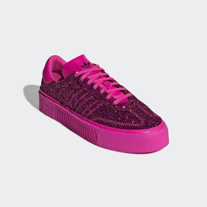 18f85d579e adidas SAMBAROSE Shoes in 2019 | Products | Pink adidas, Shoes, Adidas