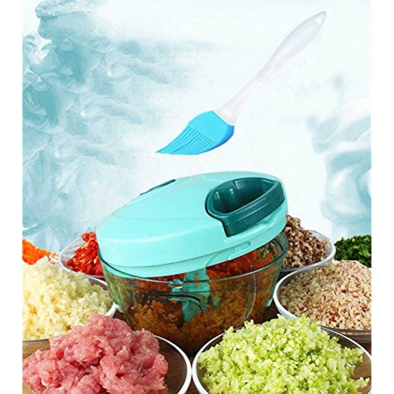 Tenta Kitchen 330ml Pull String Manual Food Processor/Vegetable ...