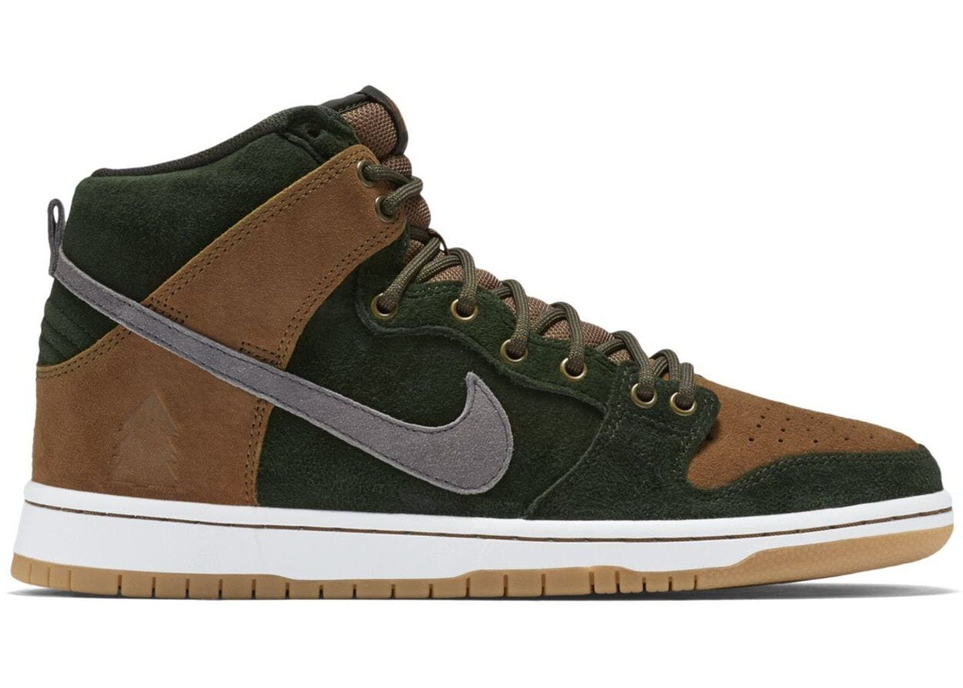 timeless design 15961 d5fbc Nike Dunk SB High Homegrown Ale Brown