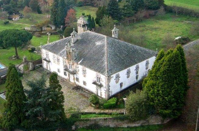 Sistallo cospeito lugo pazo en venta el pazo de sistallo de estilo barroco data del siglo - Casas rurales lugo baratas ...