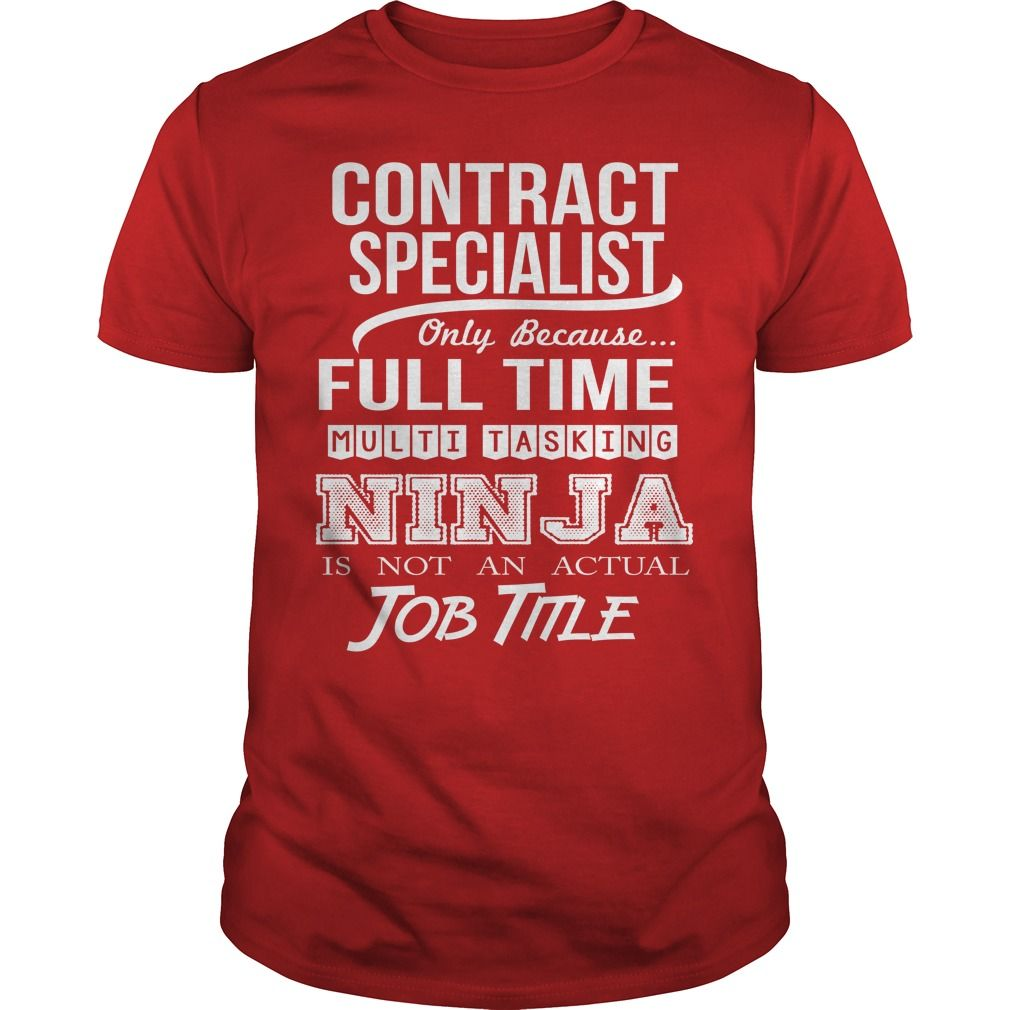 Contract Specialist Only Because Full Time Multi Tasking Ninja T