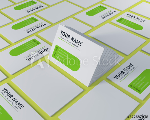 Mockup Business Cards For Companies And Retail Mockup Card Design For Print Templates And Advertising In 2020 Business Card Mock Up Company Paper Media Communication