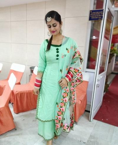 100 Latest Punjabi Salwar Suit Designs To Try in 2021