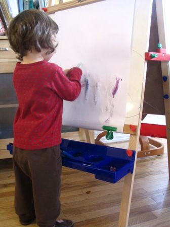 Ideas for keeping your kids interested in their easel