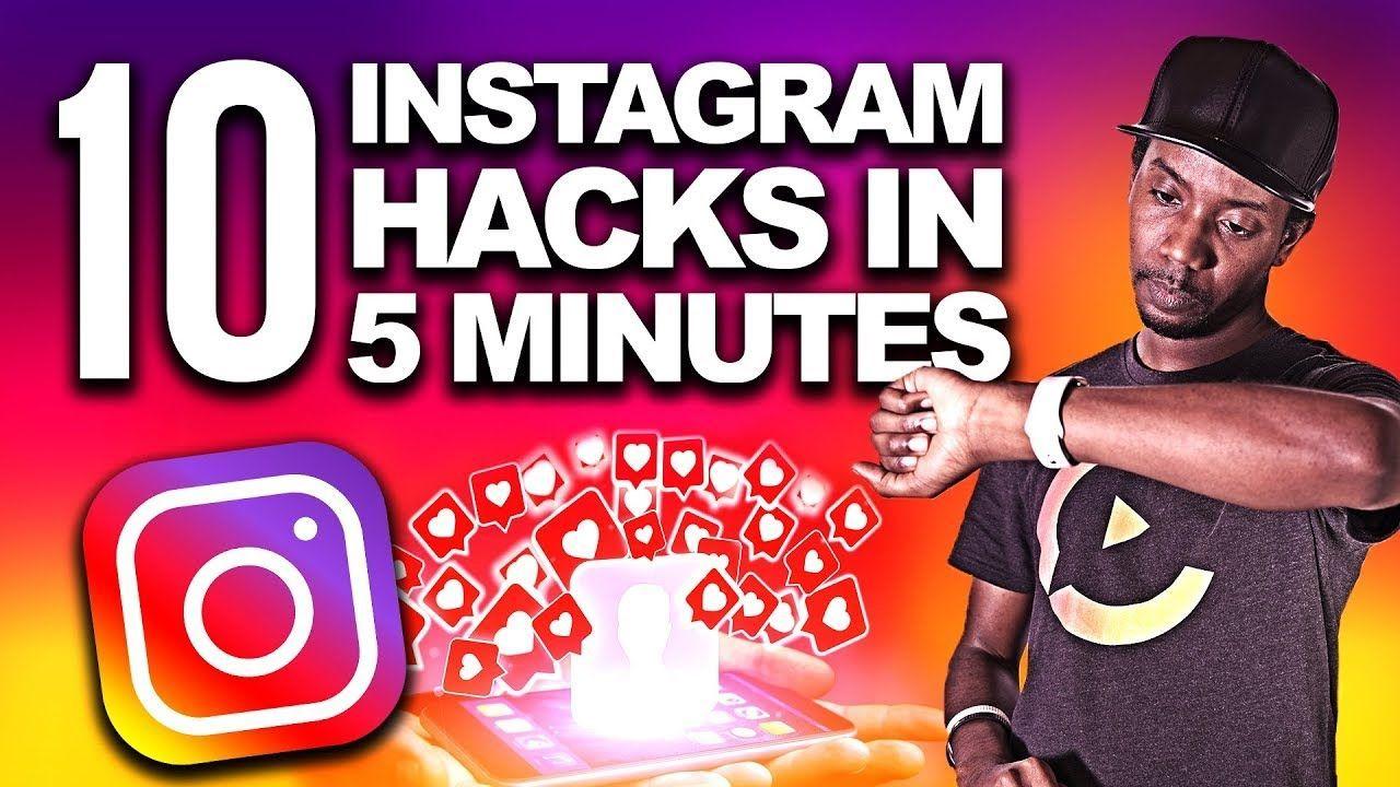 How to Grow on Instagram in 2019 10 Instagram Hacks in 5