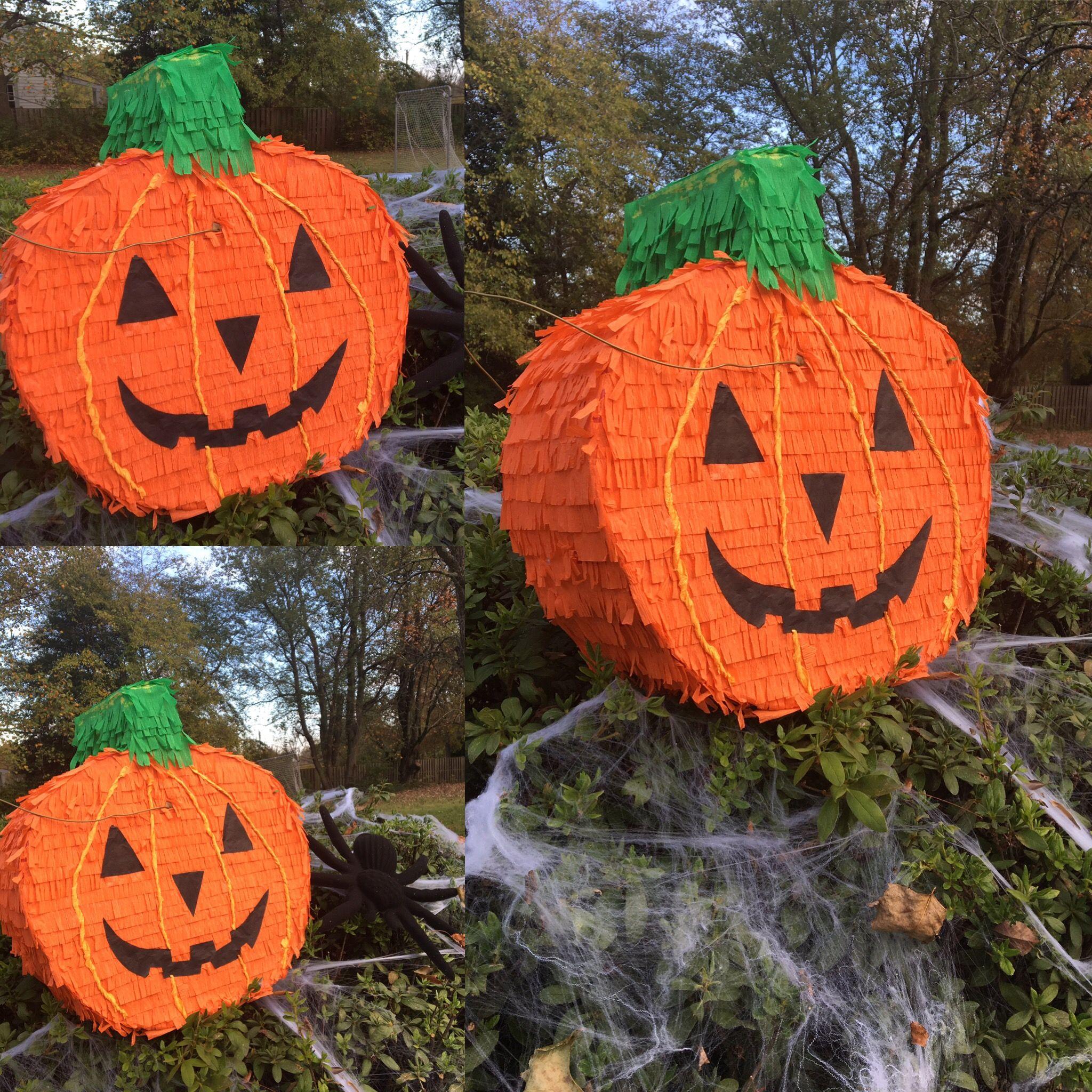 Piñata Halloween Calabaza Decoracion Calabazas Halloween Calabazas De Halloween Moldes Halloween