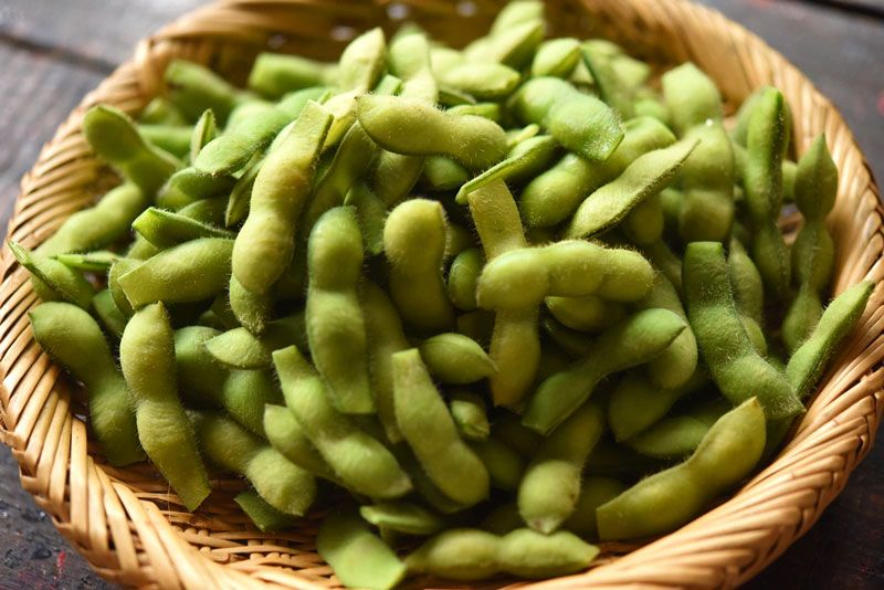 ゆで 時間 の 枝豆