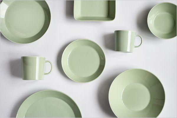 Iittala Geschirr iittala teema celadon green green geschirr