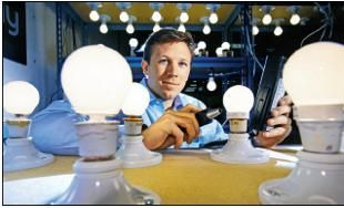 Startup in Boston experimenting on a new bulb that will eventually be manufactured in India