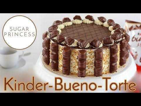 Photo of Delicious Kinder Bueno Torte with Cream Bueno Cream and Wiener …