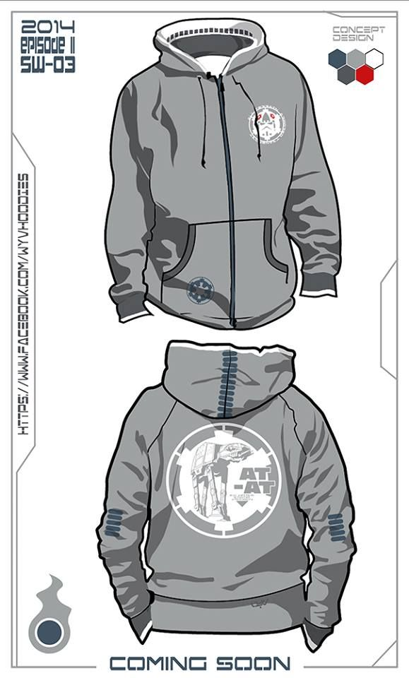 ATAT Hoodie Concept. Buy the real hoodie today @ www.etsy.com/... #StarWars