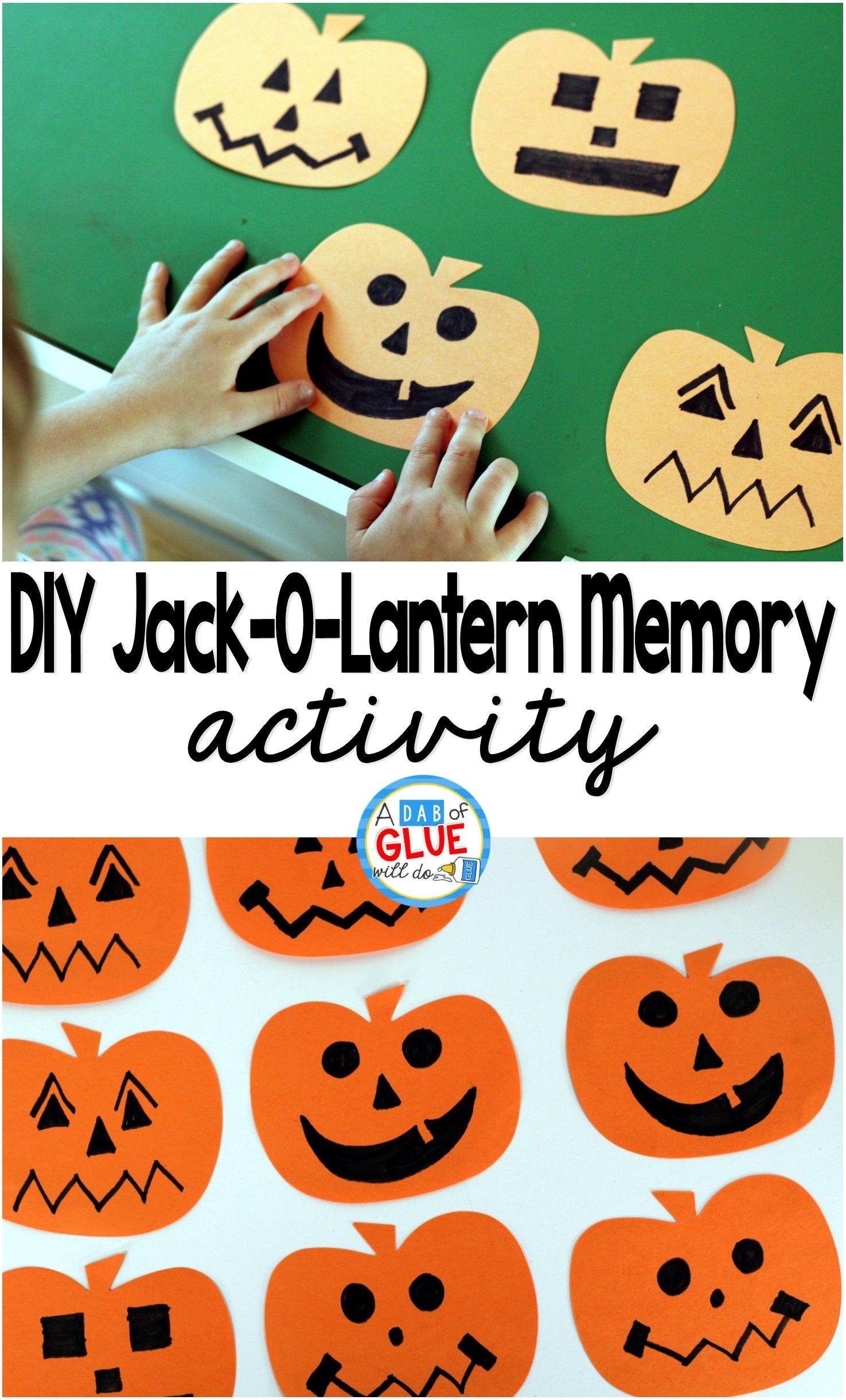 Diy Jack O Lantern Memory