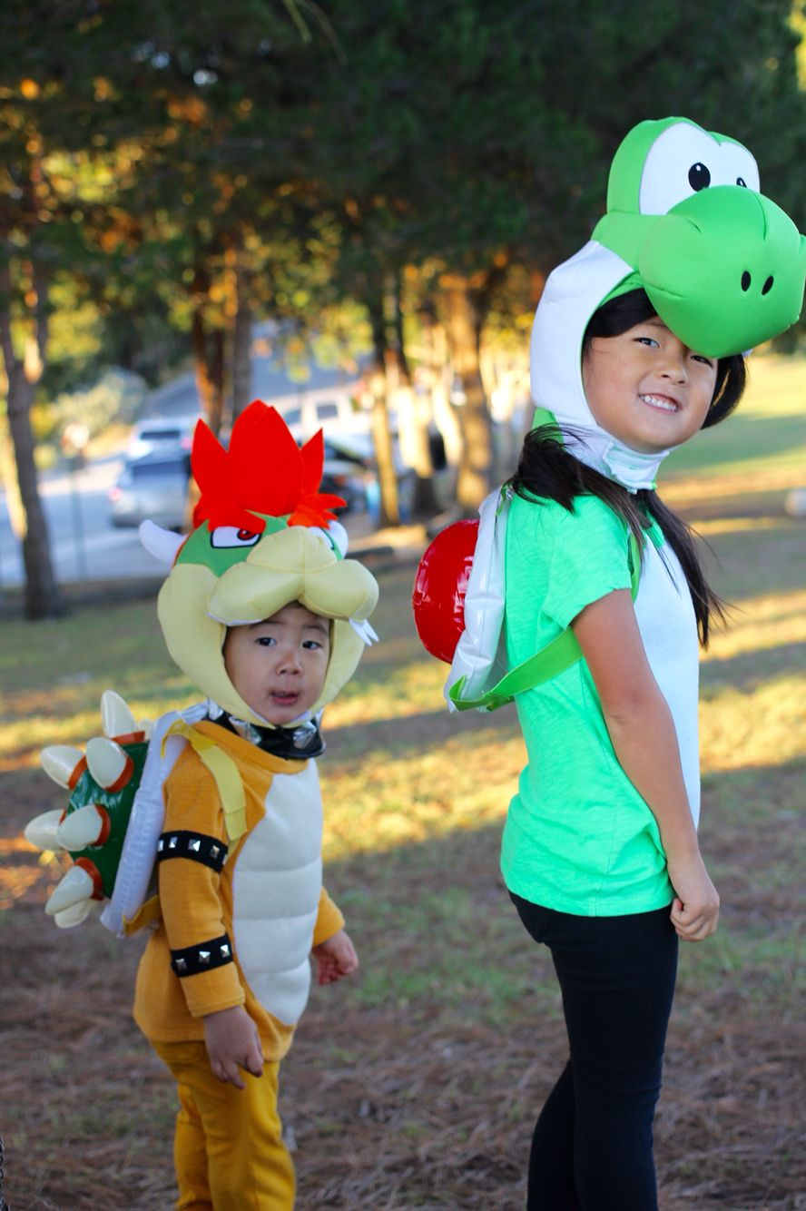 Bowser Halloween Costume Kids