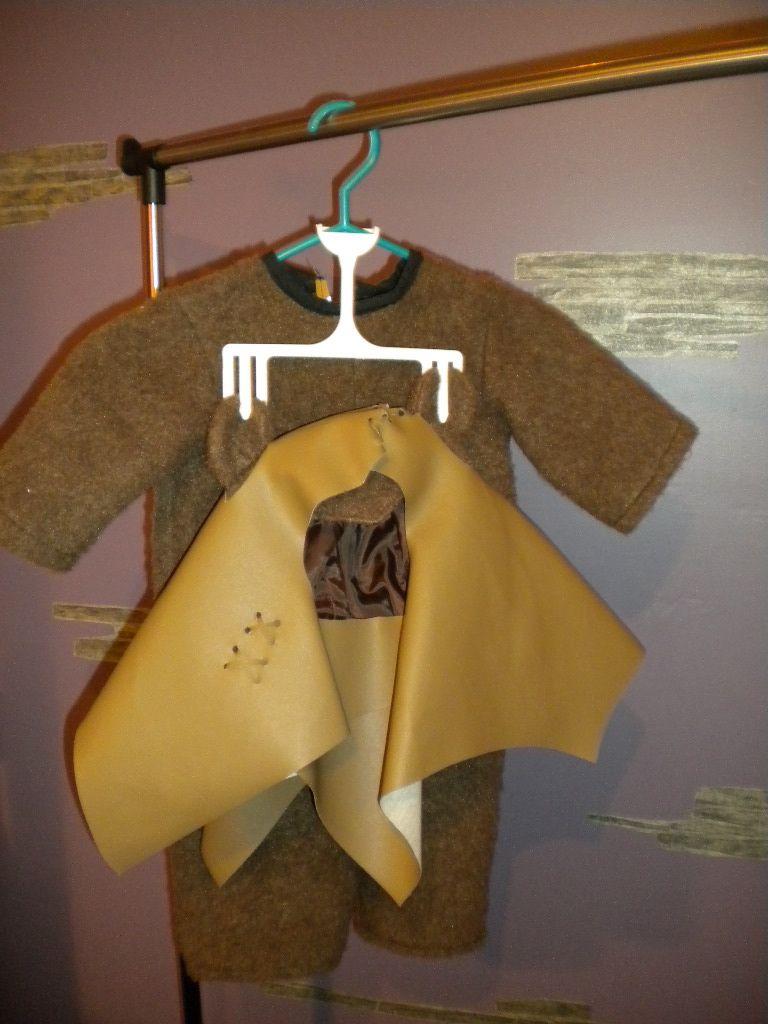 Ewok costume, toddler