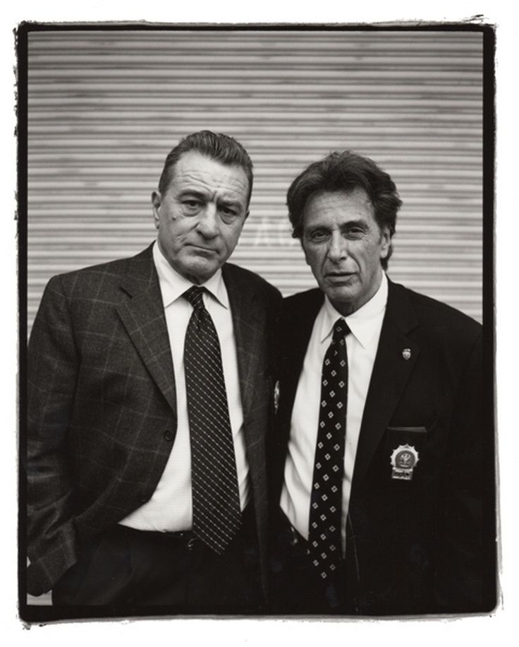 Robert De Niro Al Pacino By Kevin Cummings And Estevan Oriol