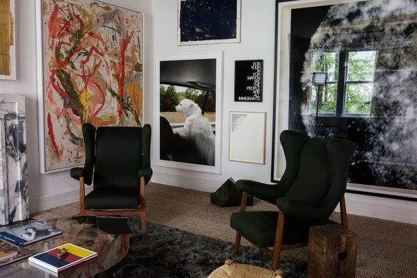 Decorators on display at the kips bay show house new york times interiormeaning also rh pinterest