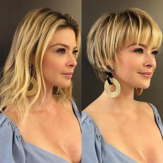 Corte de cabelo curto 2020 - Inspirações de cor e