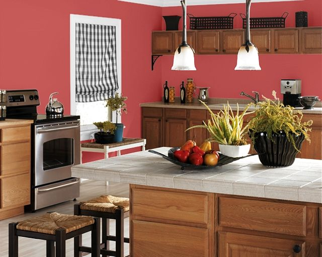 Colors To Paint Your Kitchen Making Your Home Sing Red Paint Colors For A Kitchen Kitchen Paint Colors Kitchen Paint Country Kitchen Paint Colors