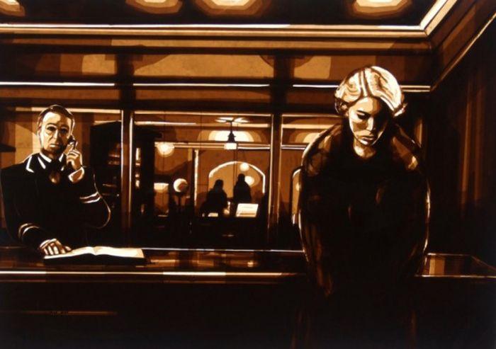 Потрясающие картины из скотча от Макса Зорна (Max Zorn).