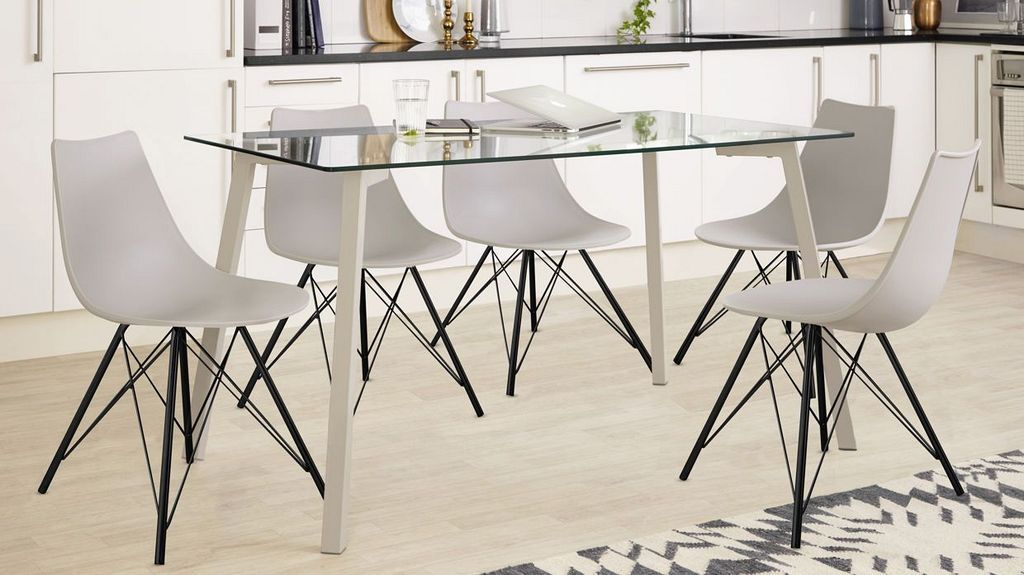 30 Modern Dining Set Design Ideas With 6 Seater With Images 6