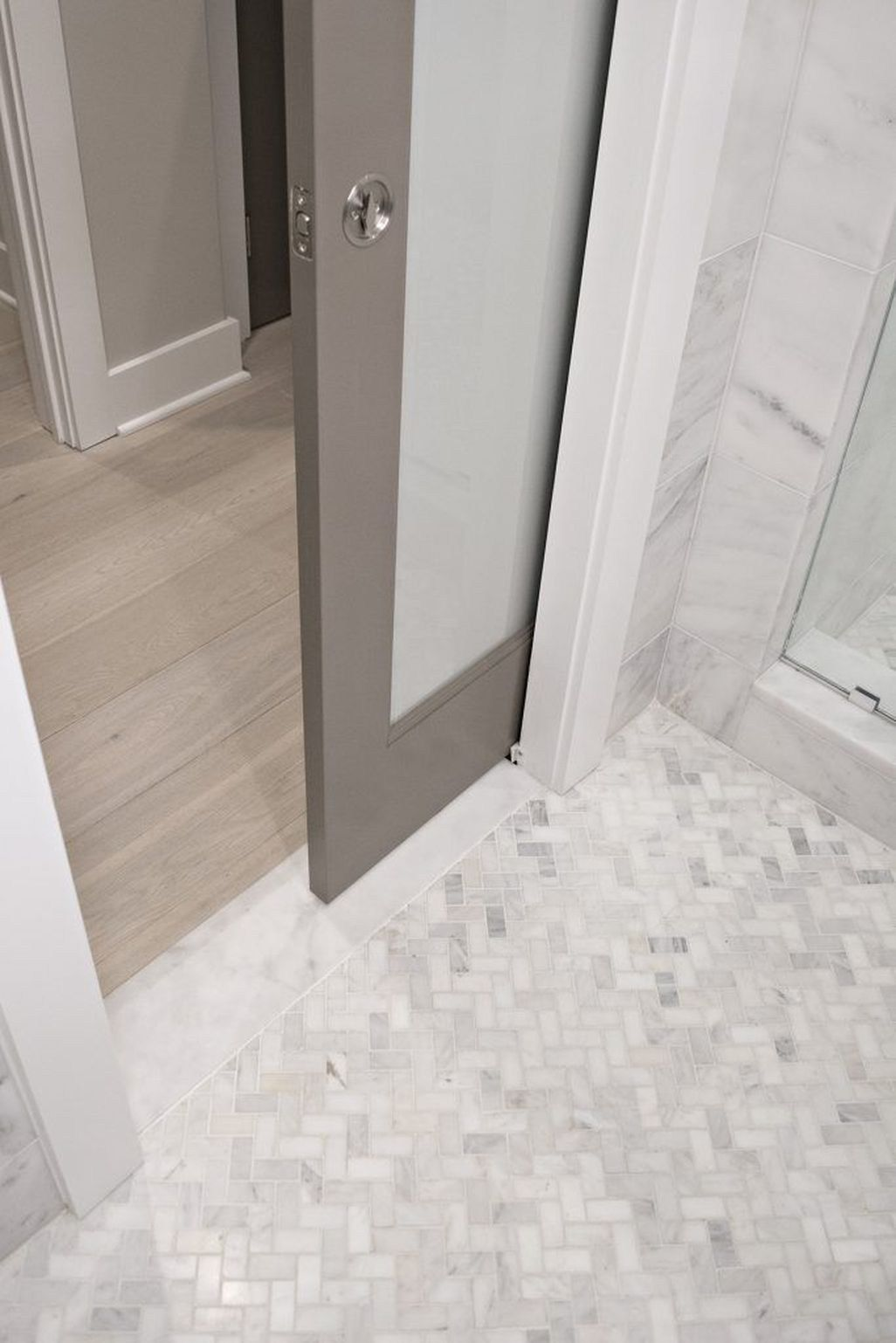 Cool Small Master Bathroom Renovation Ideas 46 Pocket Door W