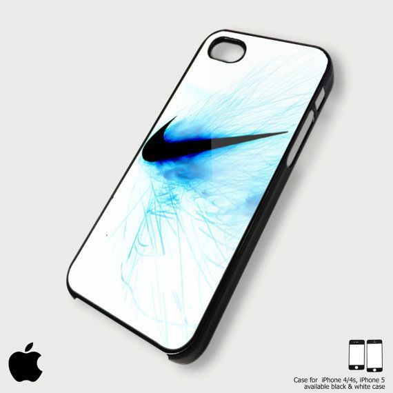 Aktualne nike girl phone cases   nike just do it blue fire for iPhone 4 WG69
