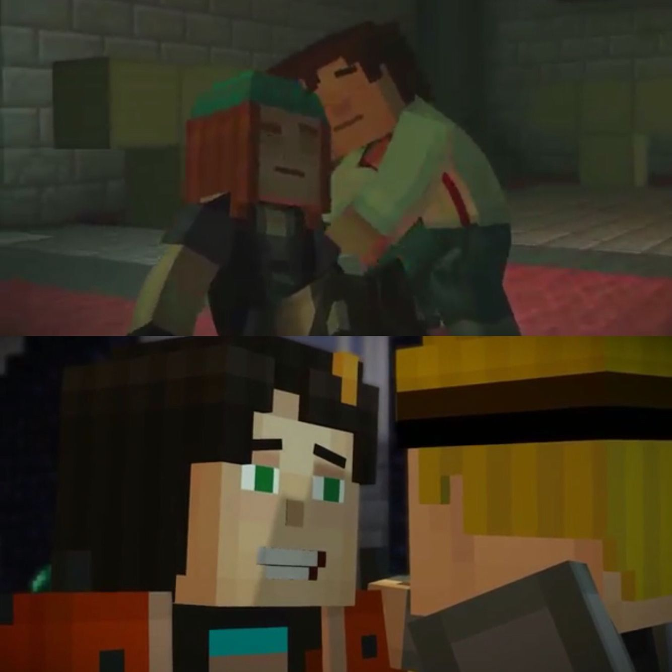 Jetra And Lukesse Popular Minecraft Story Mode Ships So Cute