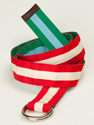Twilight No.3. red-beige and green-blue belt. €34,00