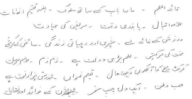 Important Urdu Essays For 10th Class Students | khan | Essay