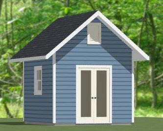 excellent guest house over garage. House 10x12 Shed  10X12S2 120 sq ft Excellent Floor Plans Tiny