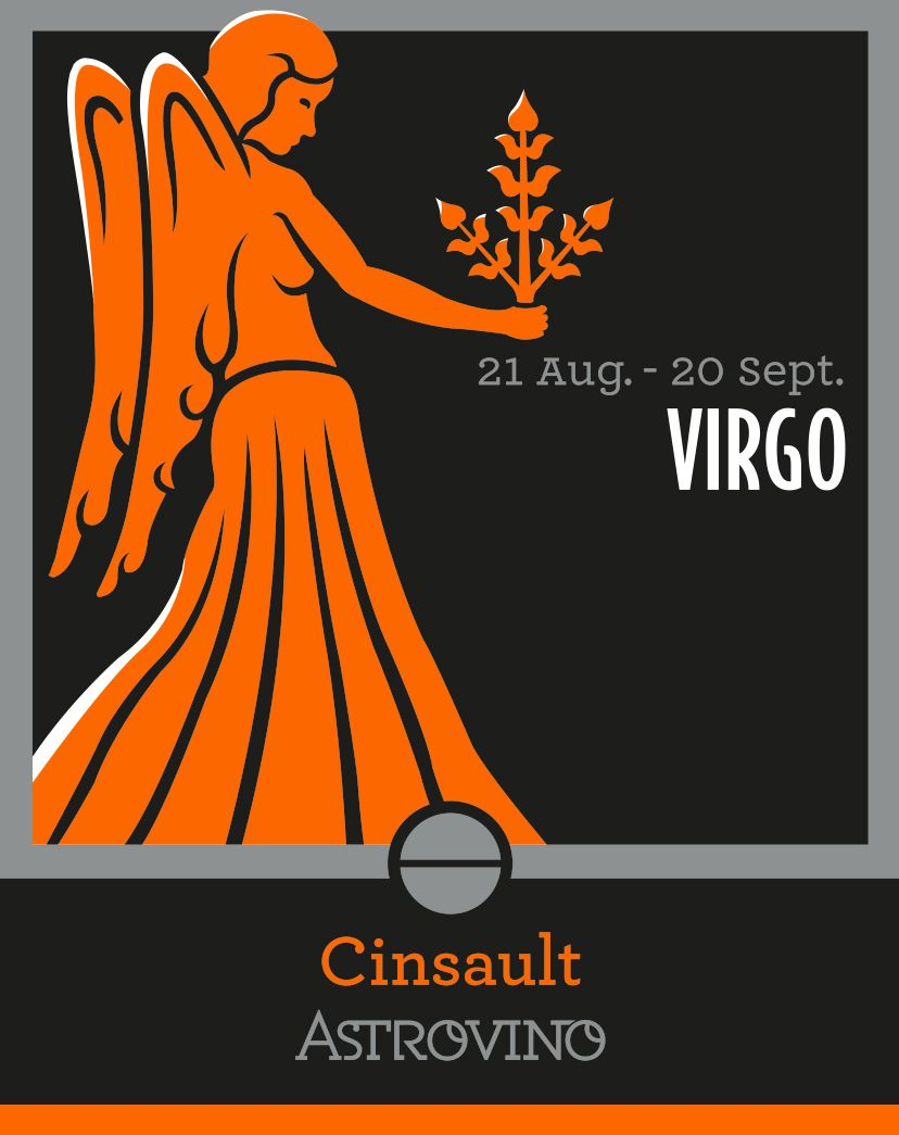 Zodiac Sign Virgo Wine Cinsault Wine Color Rose Date 21 August 20 September Zodiac Signs 12 Zodiac Signs Zodiac