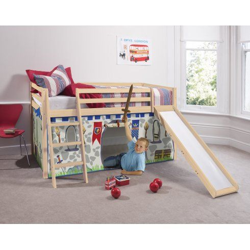 Knights Castles Cabin Bed With Slide