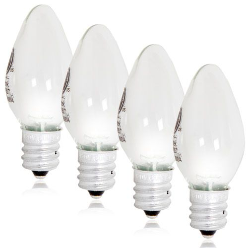 Led C7 Candelabra Night Light Replacement Bulb Pack Of 4 Night Light Bulbs Led Night Light Night Light