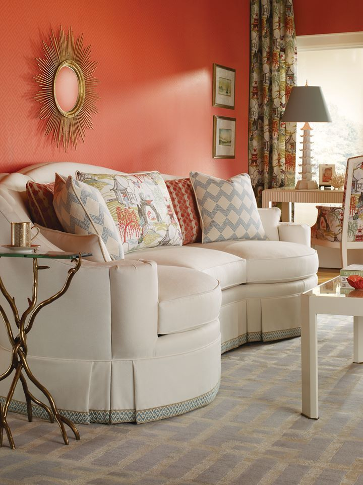House Beautiful: A Dash of Orange please. | ZsaZsa Bellagio - Like ...