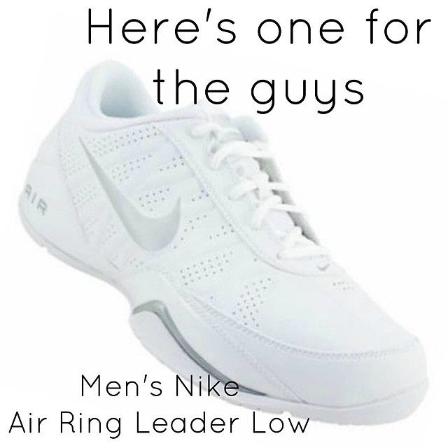 half off 06103 7ae4f Need a Mens Cheer Shoe for all the guys on your squad Check out the Mens  Nike Ring Leader Low. Its perfect.