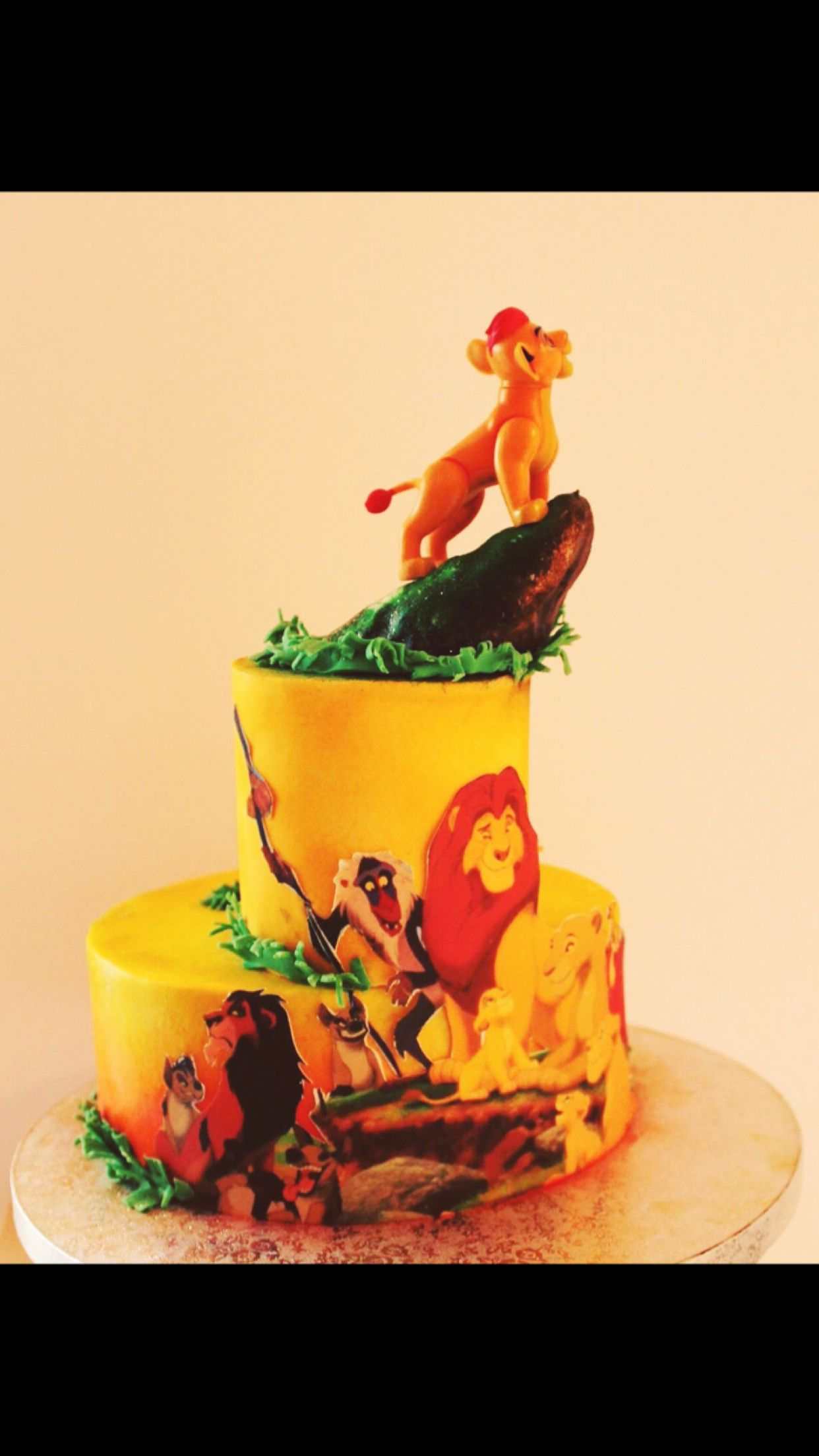 Gateau Sur Le Theme Du Roi Lion Pour Hugo Cake Shop Paris