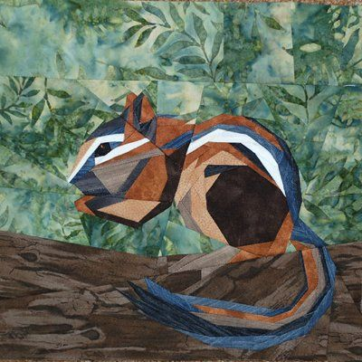 silver linings quilting pattern wee chipmunk