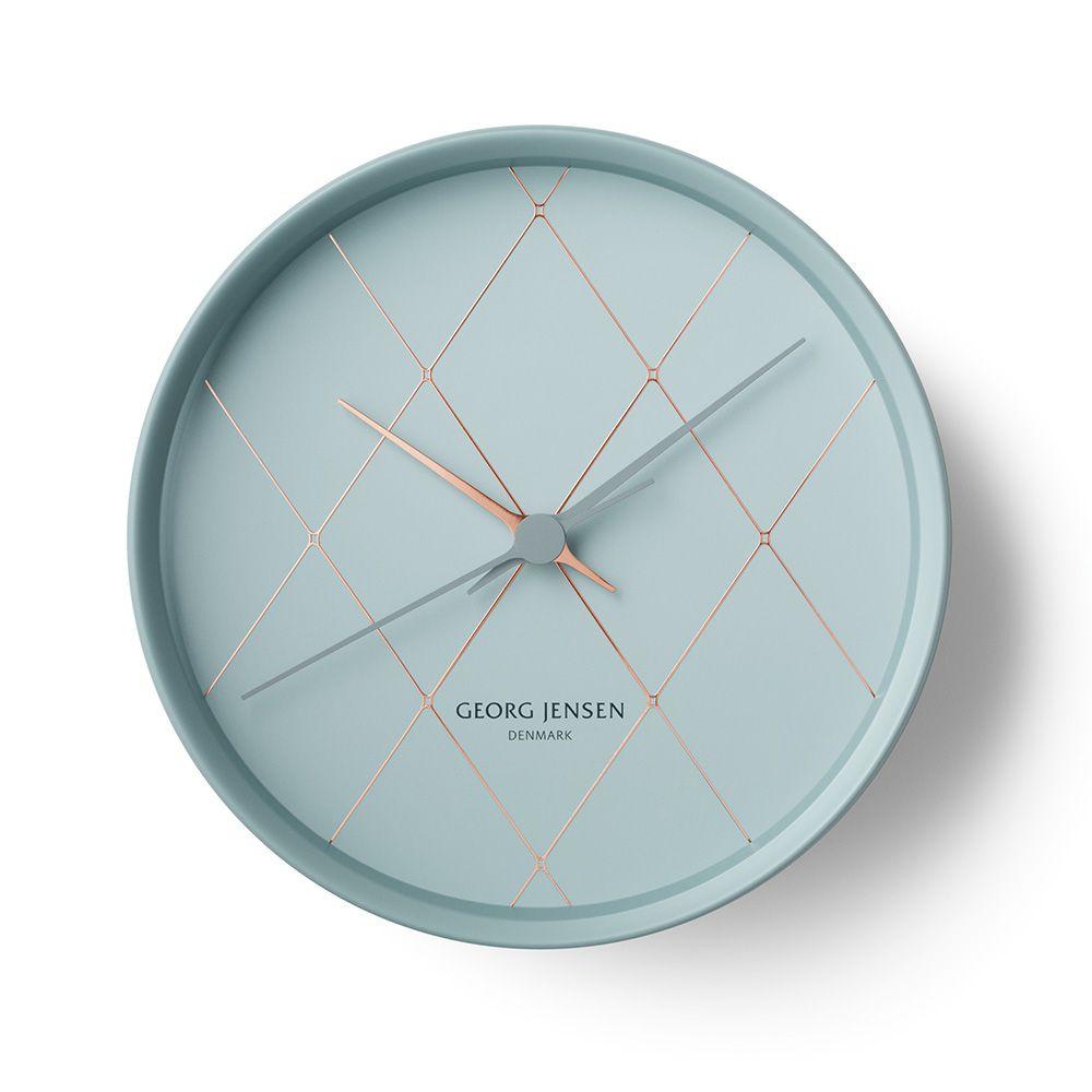 Hk Wanduhr Grau Henning Koppel Georg Jensen Royaldesign De Wanduhren Wanduhr Design Designer Uhren