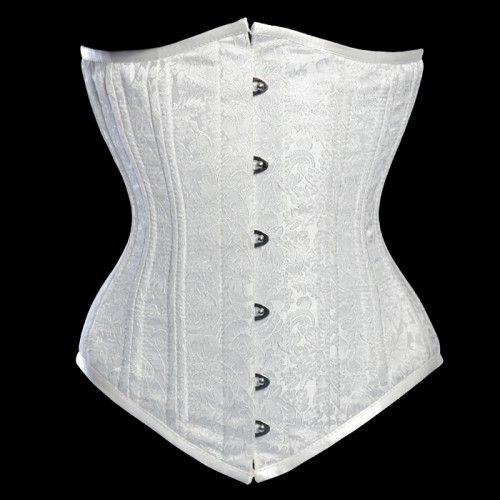 Corset Waist Training Underbust Steel Boned Bridal Wedding Size XS 3XL