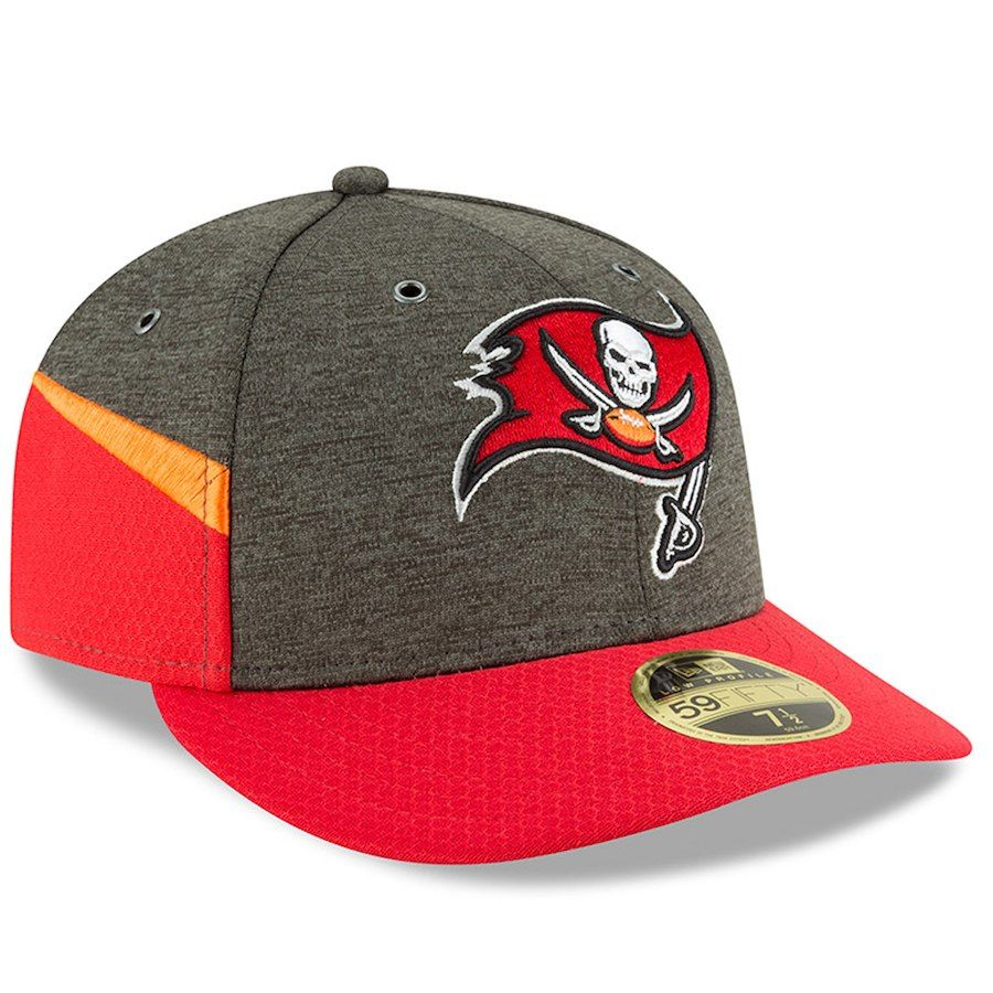 timeless design 46d4f 41330 Men s Tampa Bay Buccaneers New Era Pewter Red 2018 NFL Sideline Home  Official Low Profile 59FIFTY Fitted Hat, Your Price   37.99