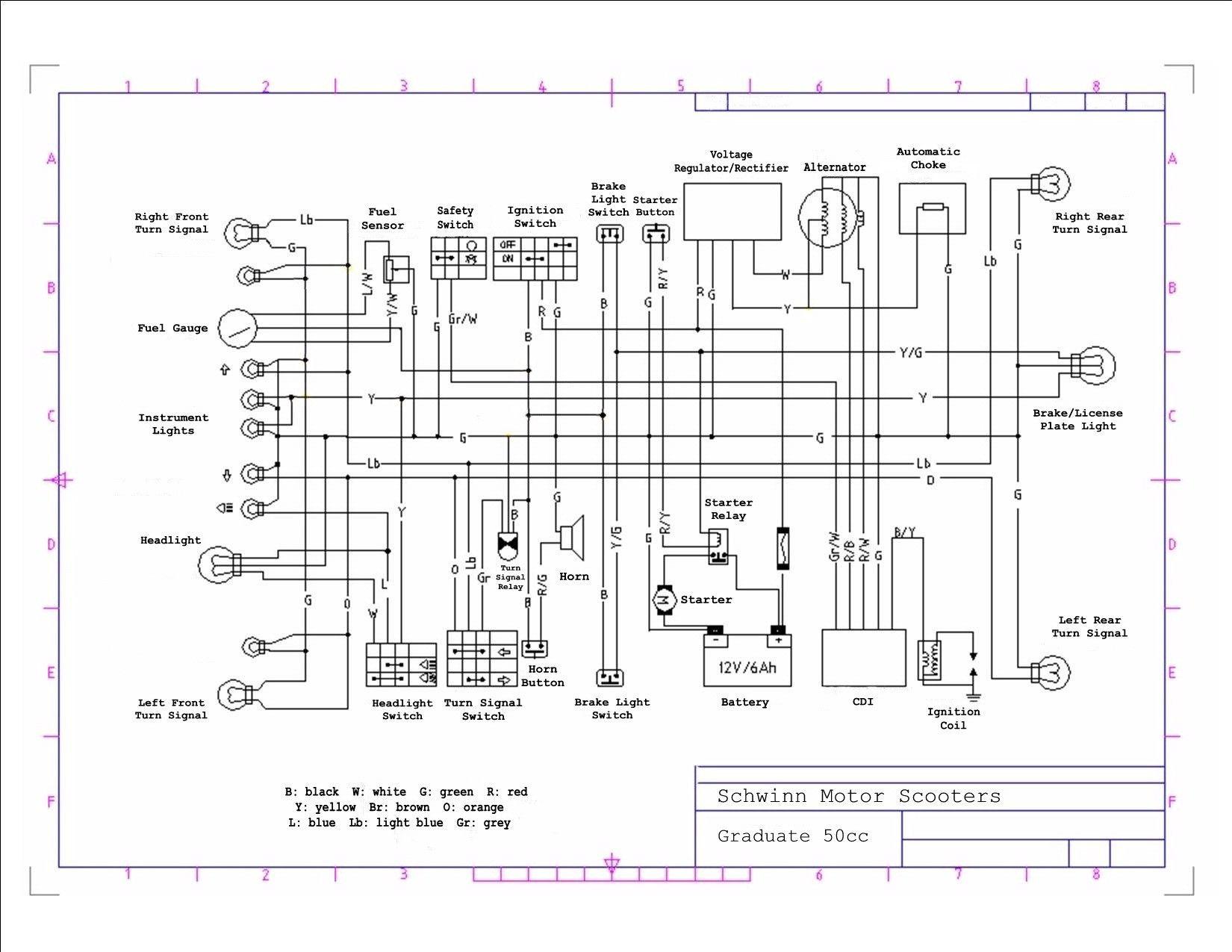 50cc Scooter Wiring Diagram Chinese Atv Cdi Wiring Diagram Chinese Electrical Diagram Electrical Wiring Diagram Diagram