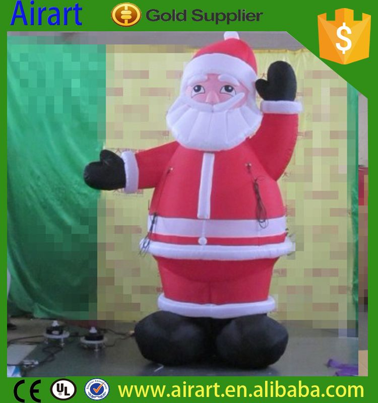 cheap price huge 20 ft inflatable santa claus on christmas day - Huge Inflatable Christmas Decorations