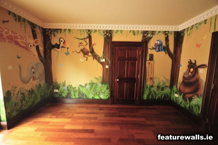 Jungle Wall Mural With Images